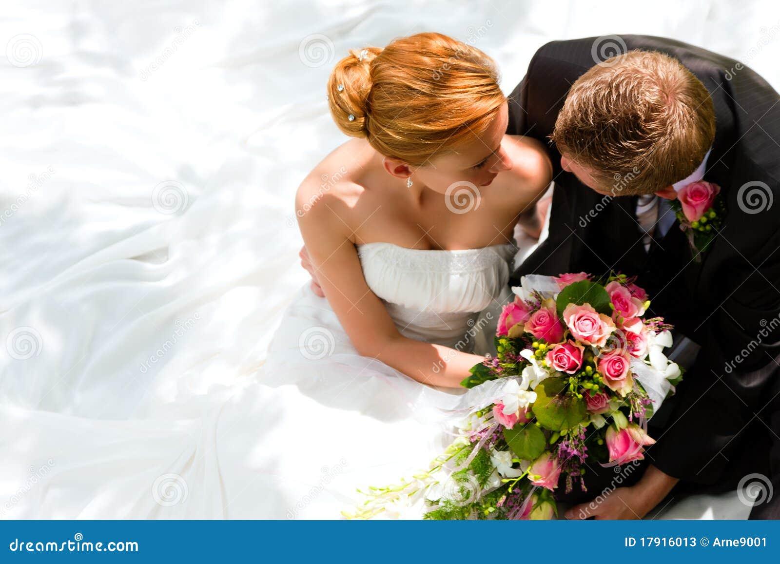 新娘夫妇修饰婚礼