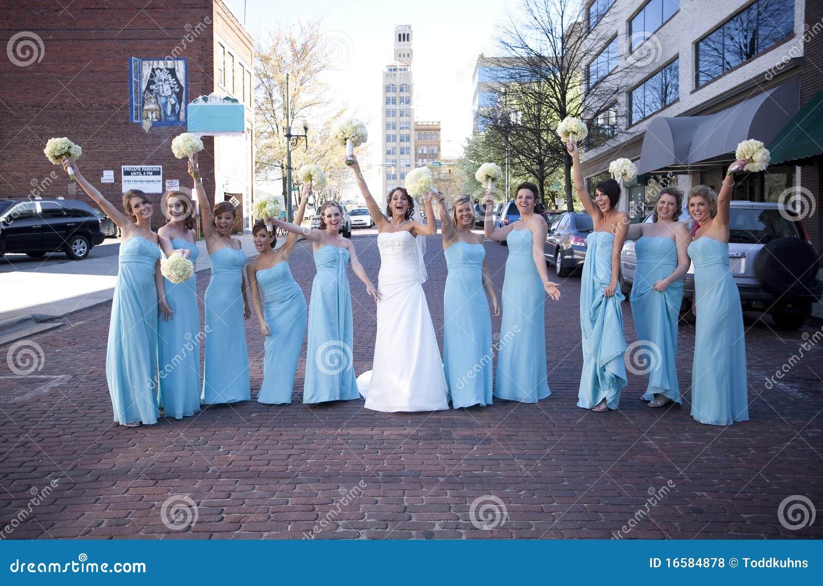新娘女傧相