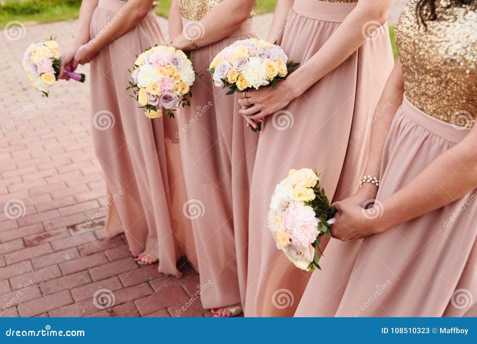 新娘婚礼花和新娘