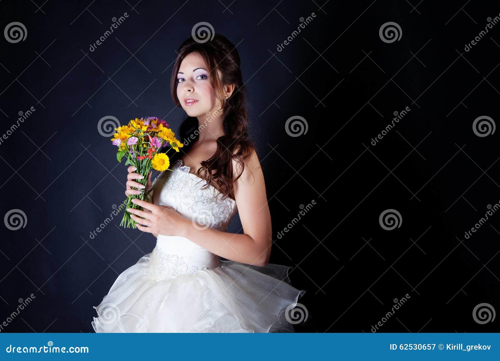 新娘纵向在工作室