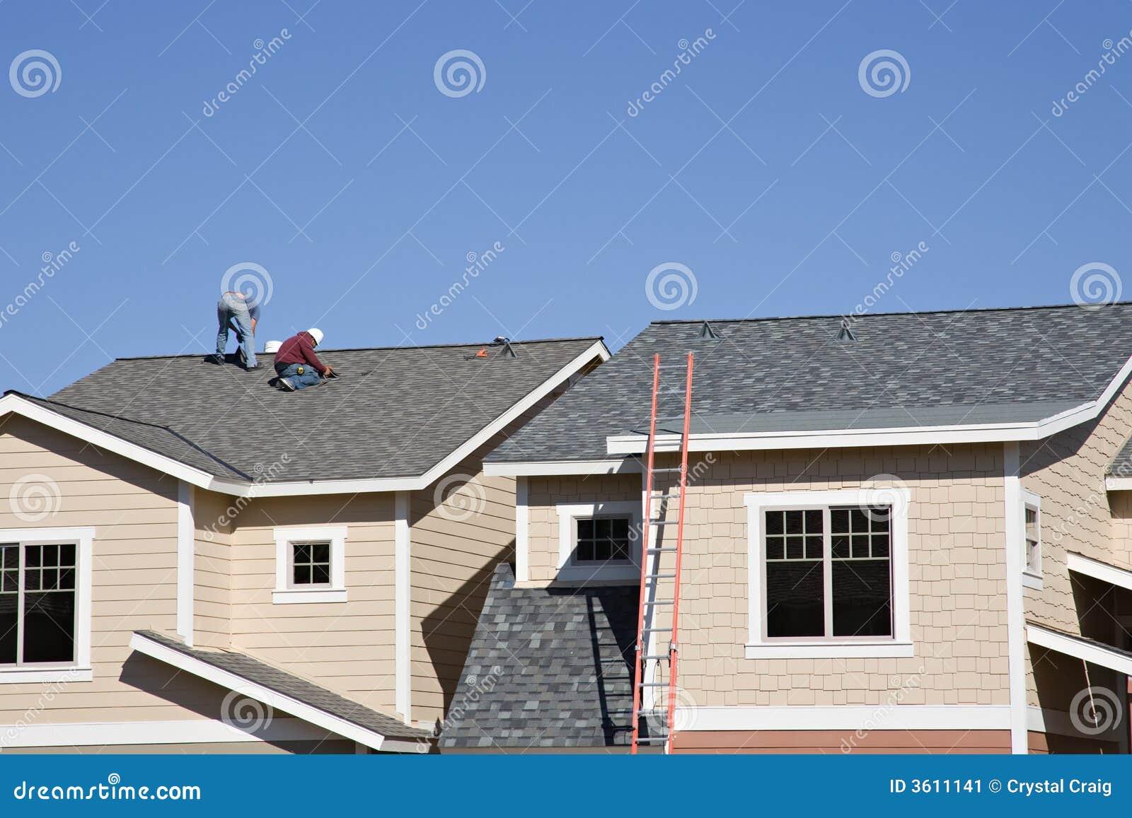 新屋顶屋面防水工工作
