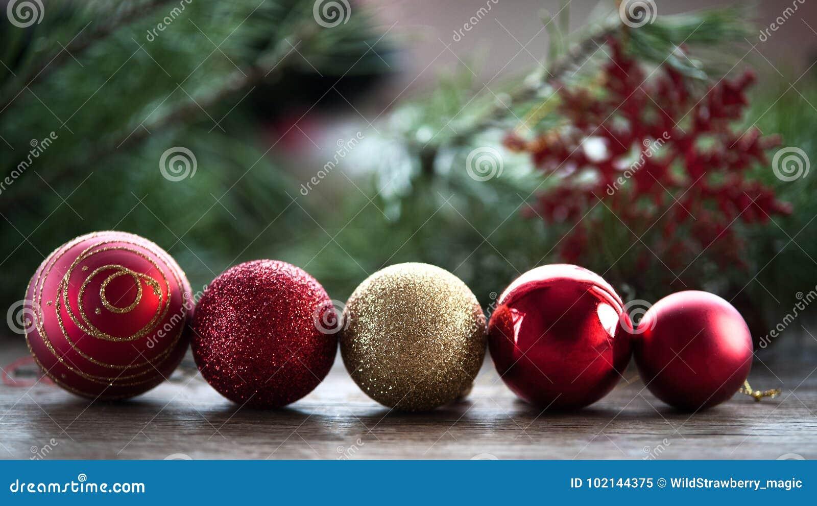 新年贺卡,圣诞节球连续