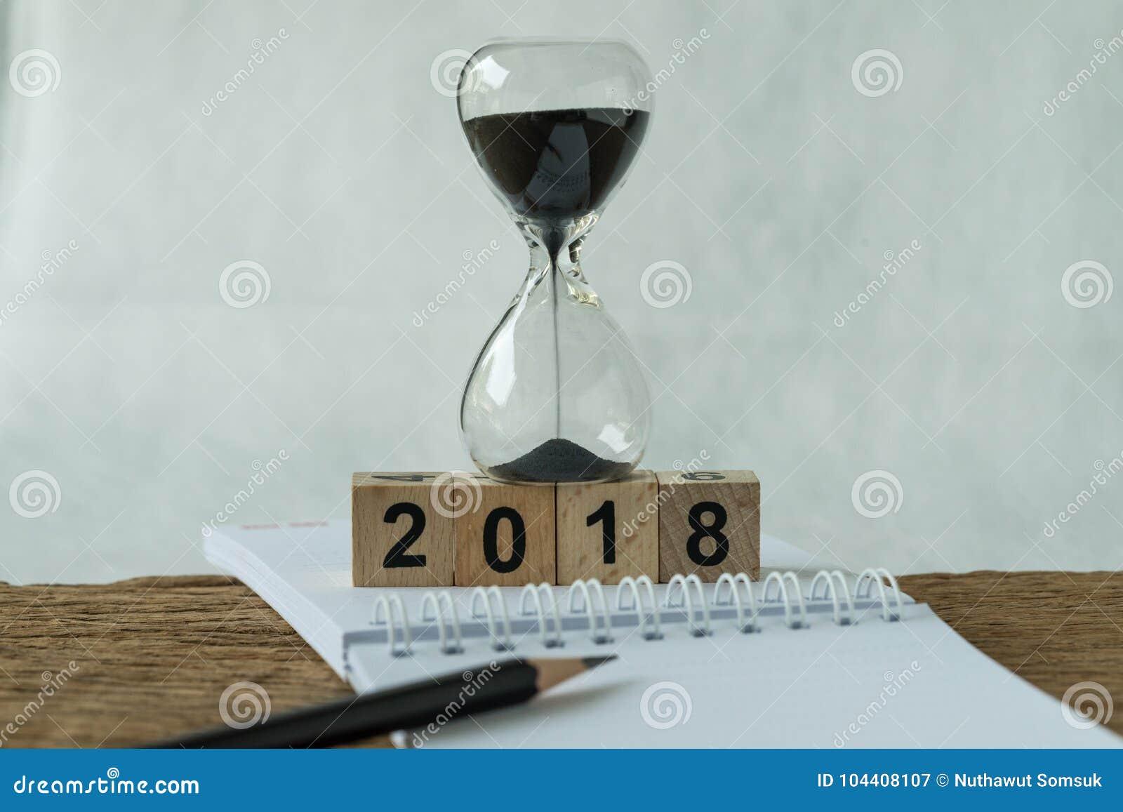 新年2018目标、目标或者清单概念作为第2018年