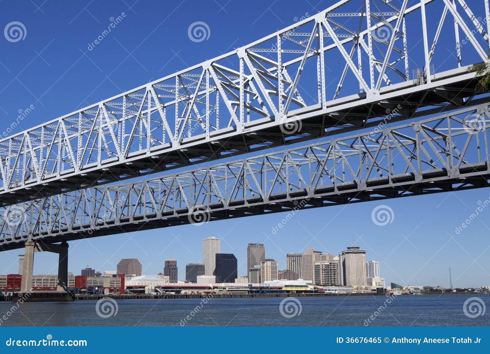 新月形城市连接-新奥尔良,路易斯安那
