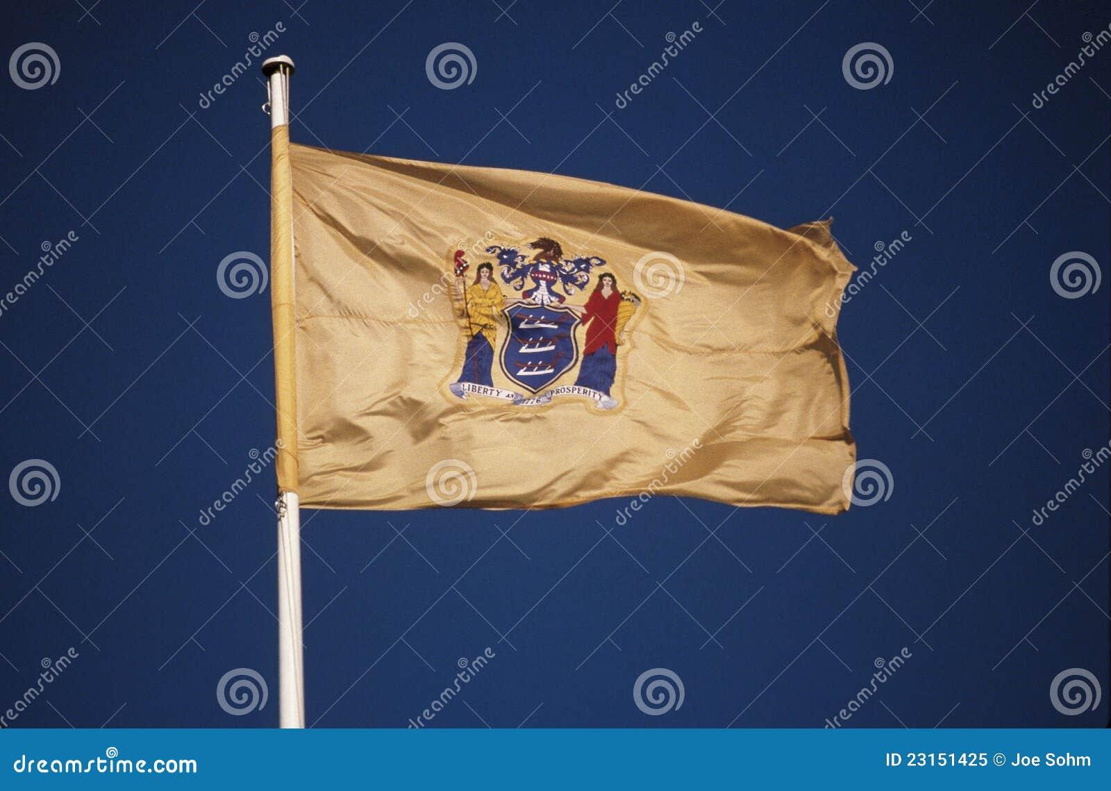 新泽西状态标志