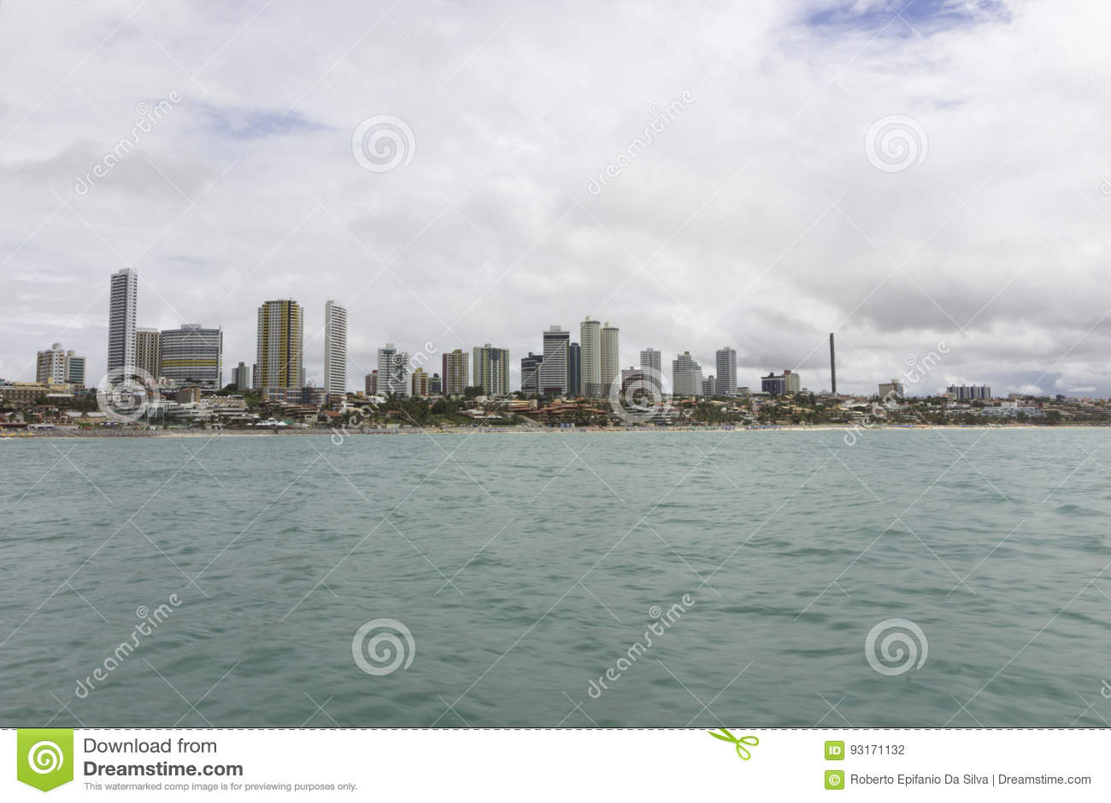 新生Ponta内格拉的海滩, RN,巴西