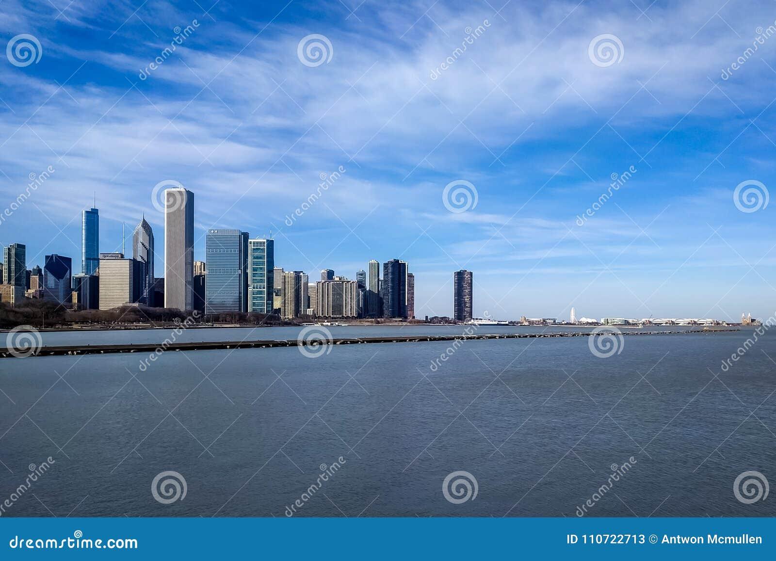 新的东边地平线 芝加哥,美国