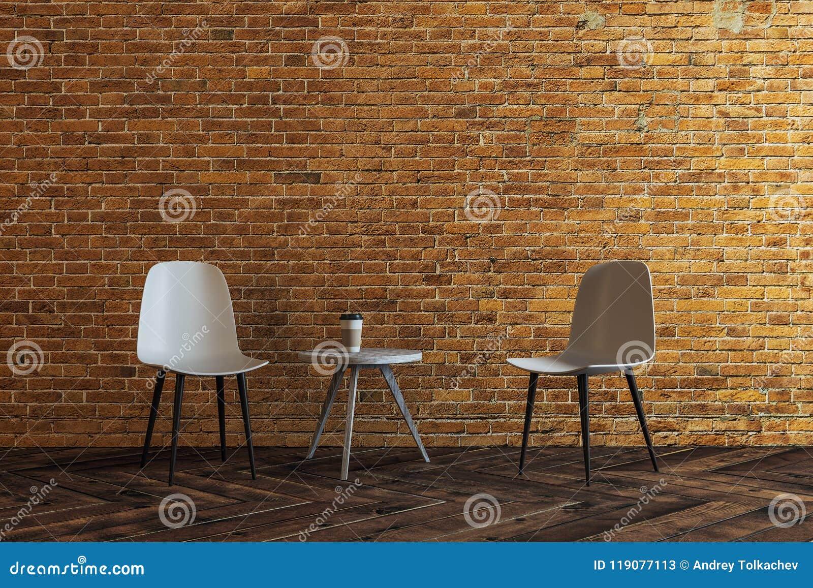 新的砖客厅