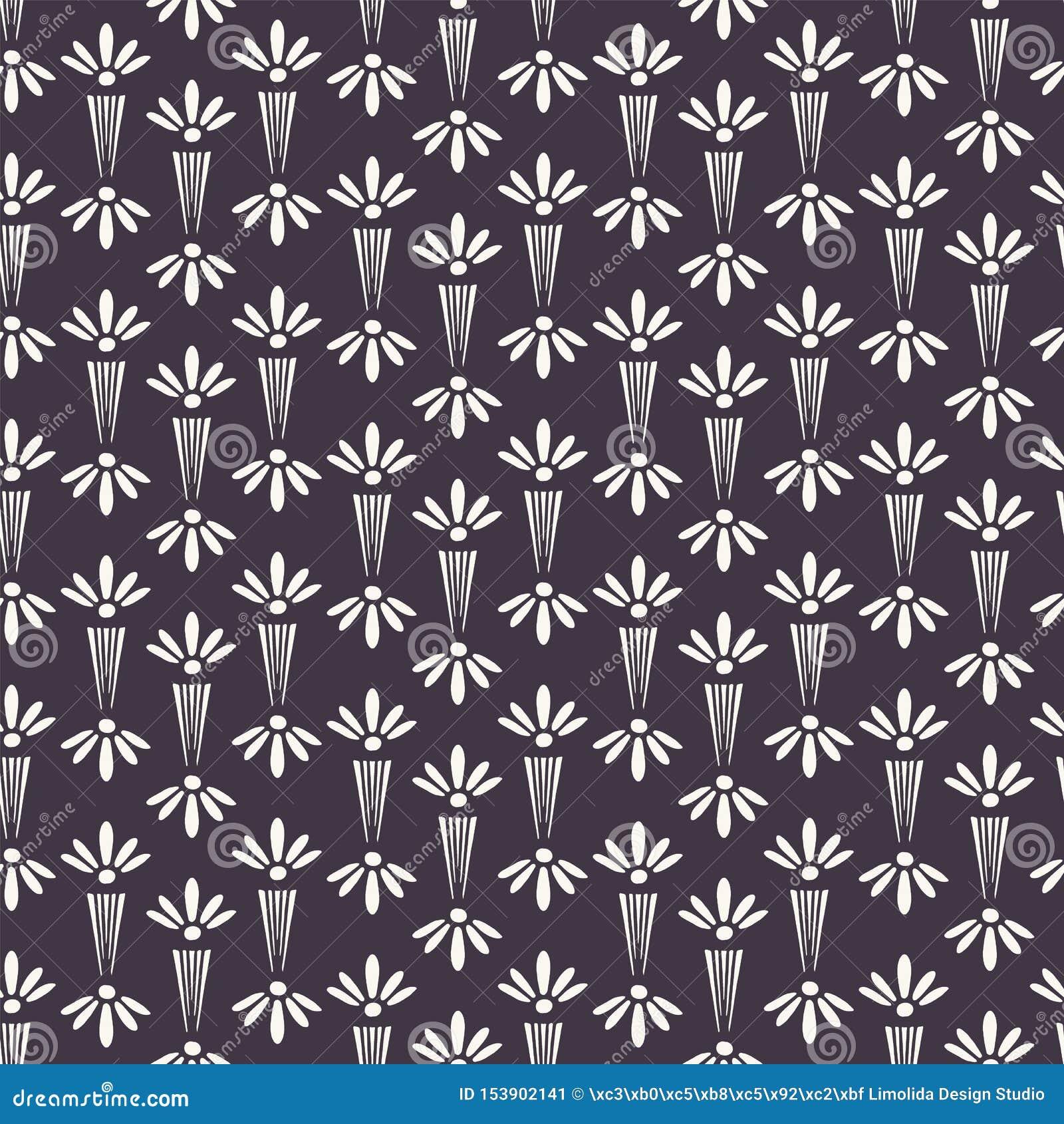 新艺术主义装饰花主题Jugenstil样式 r 在印刷品的现代派时髦黑白照片