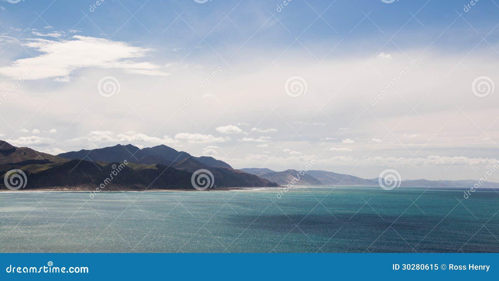新西兰海岸