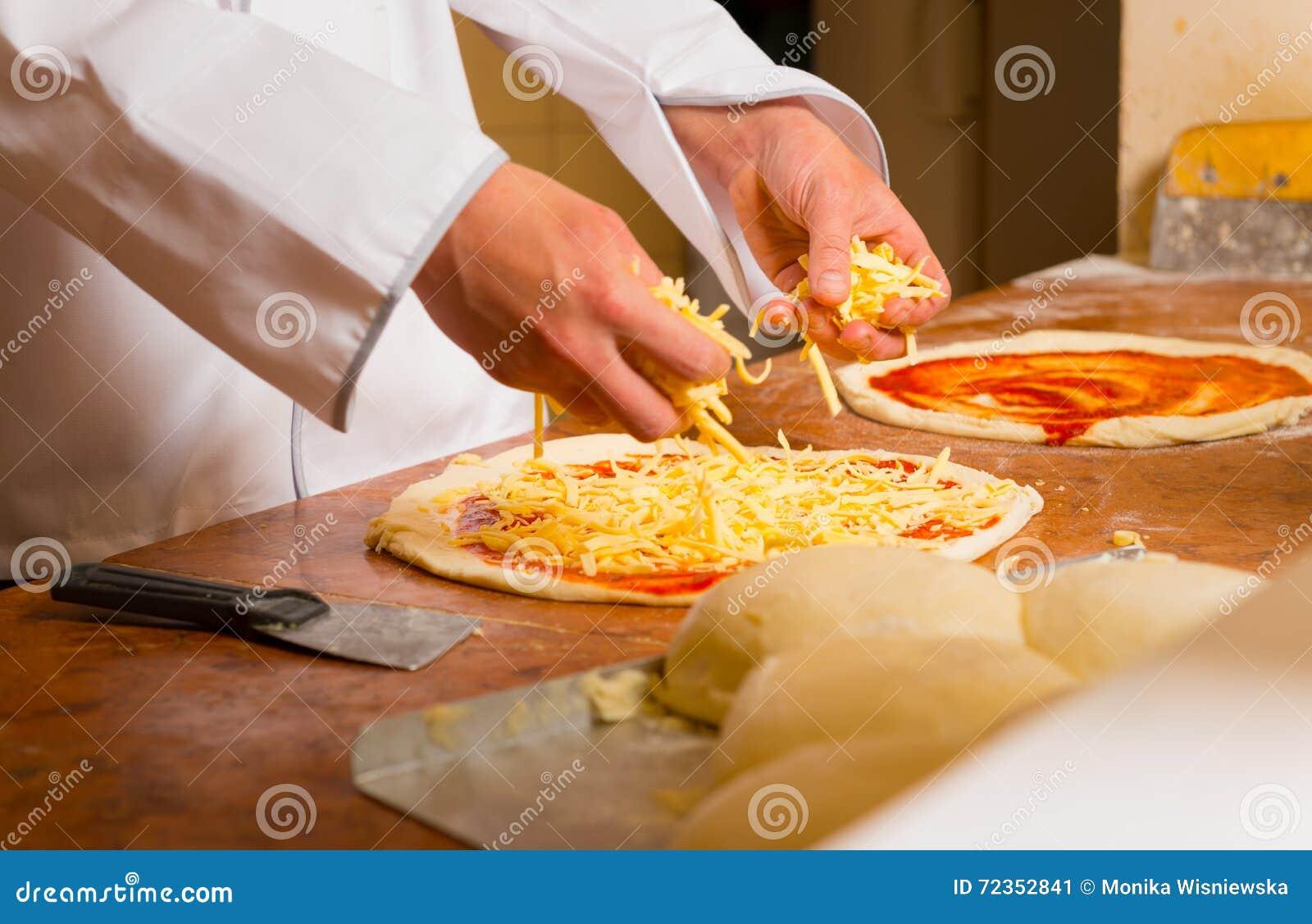 新鲜的意大利薄饼