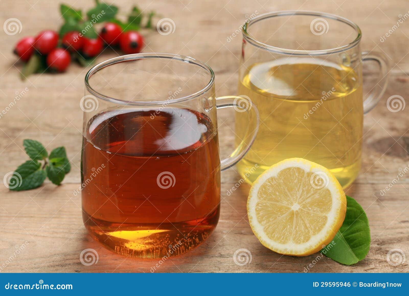 新鲜的清凉茶