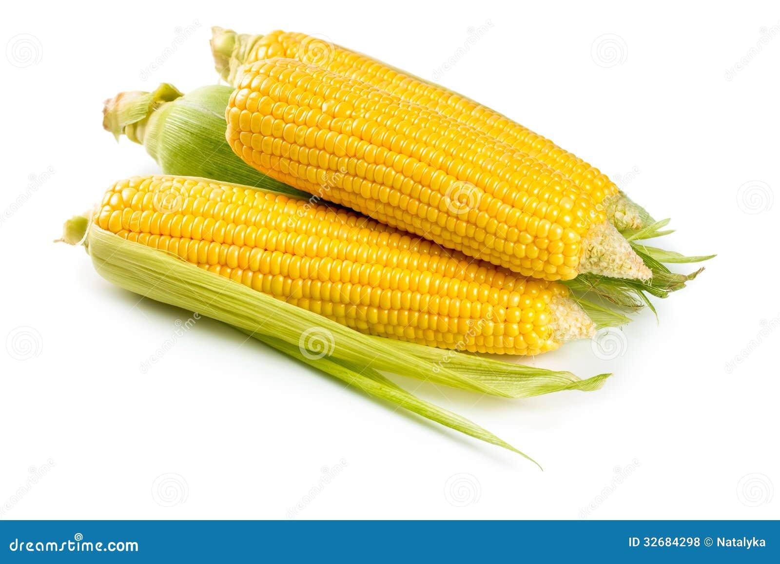 新鲜的甜玉米