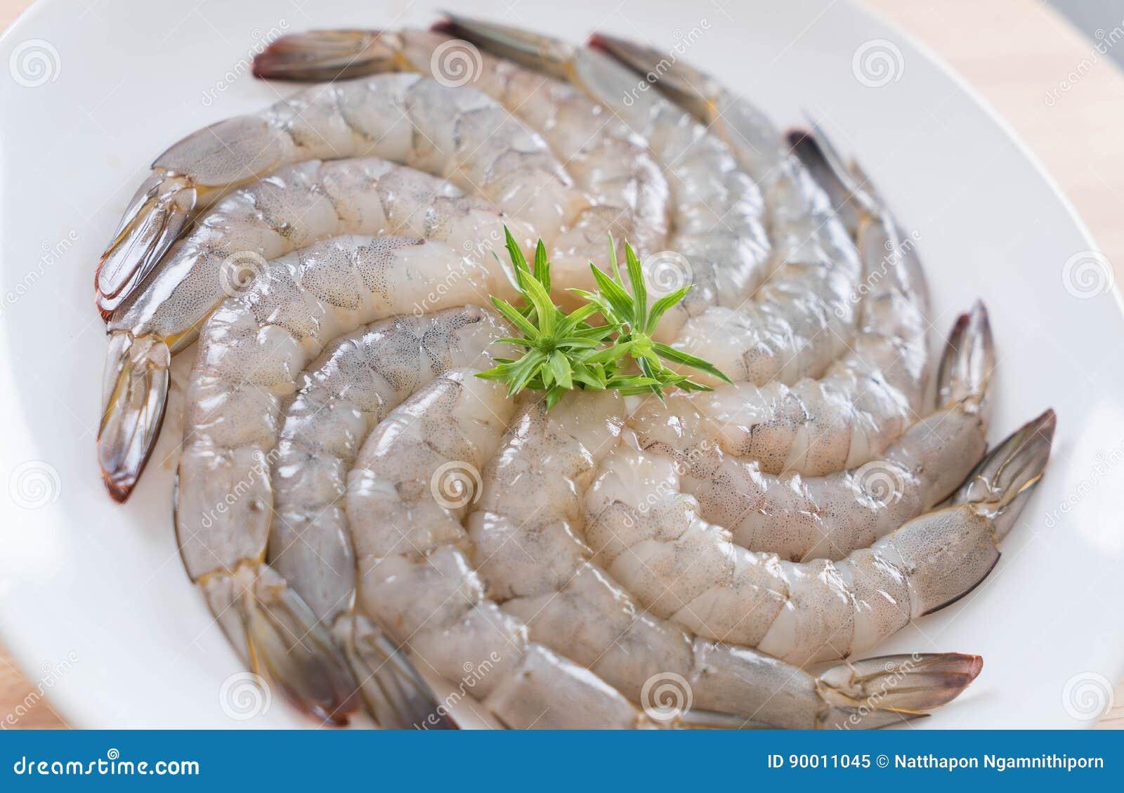 新鲜的虾/大虾