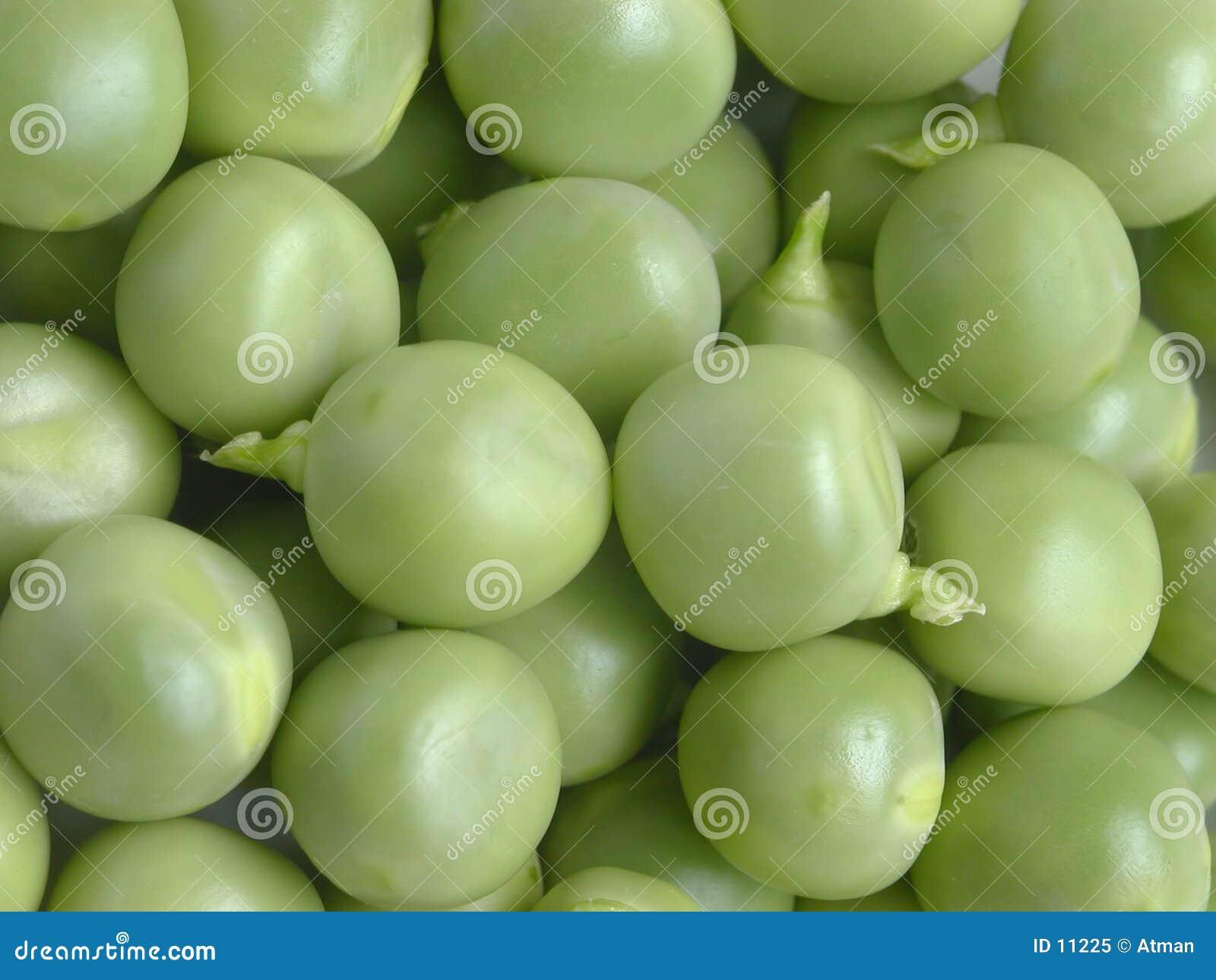 新鲜的豌豆