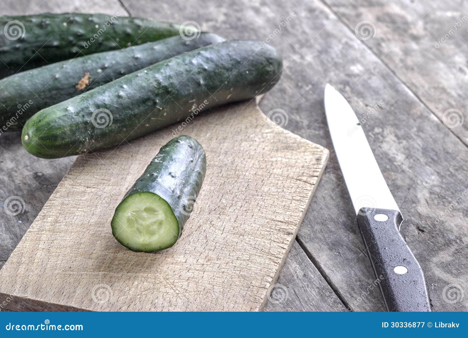 新鲜的黄瓜
