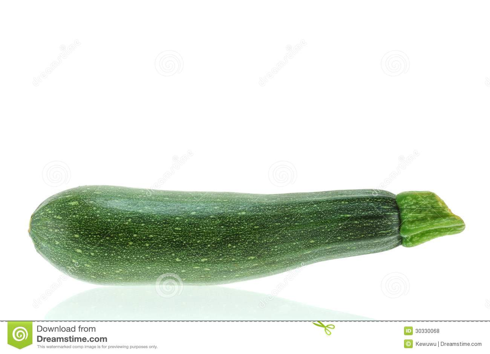新鲜的绿色夏南瓜
