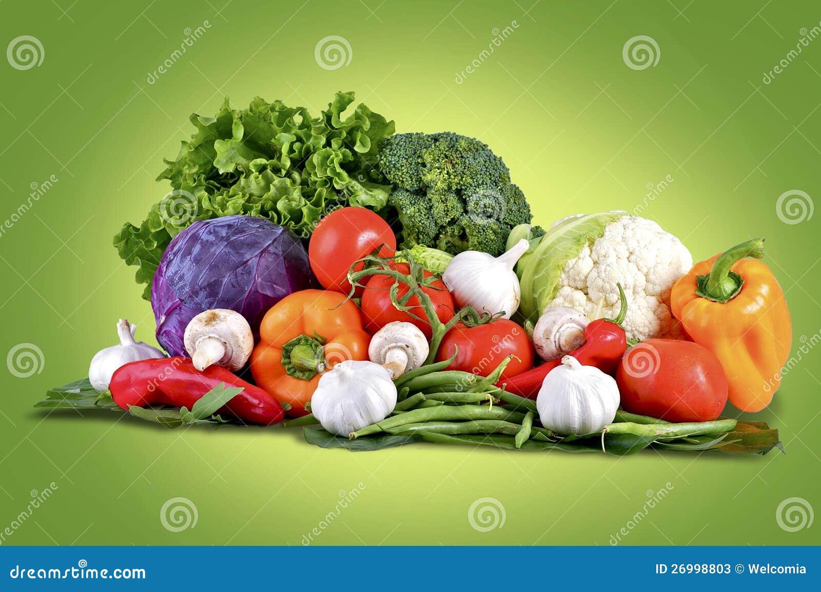 新鲜蔬菜篮子