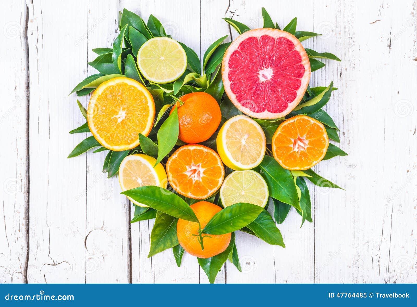 新鲜水果心脏