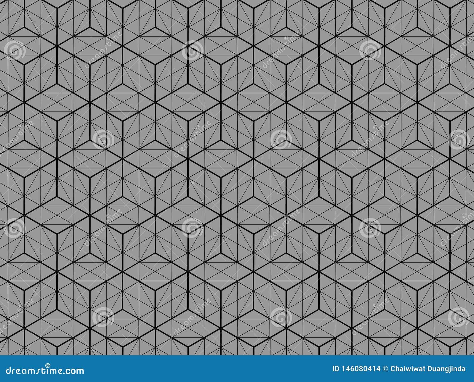 方形框样式3D视图是灰色背景