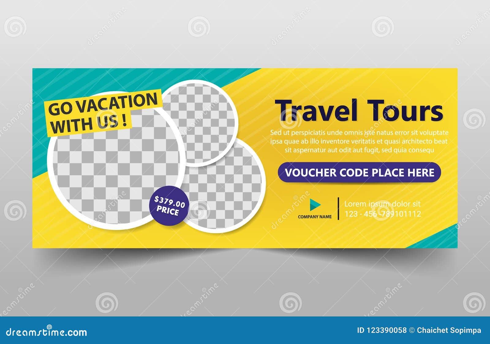旅行游览公司横幅模板,水平的广告业横幅布局模板平的设计集合