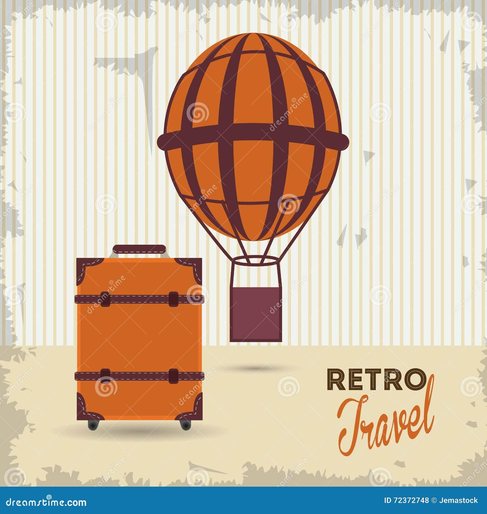 旅行设计 旅游业象 鸟逗人喜爱的例证集合葡萄酒