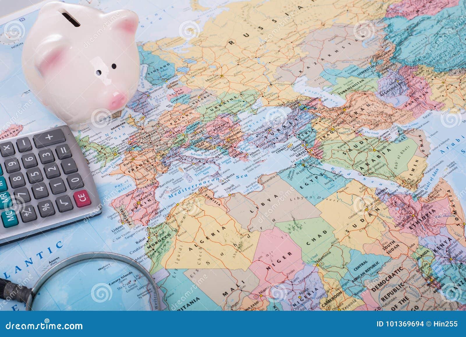 旅行预算金钱