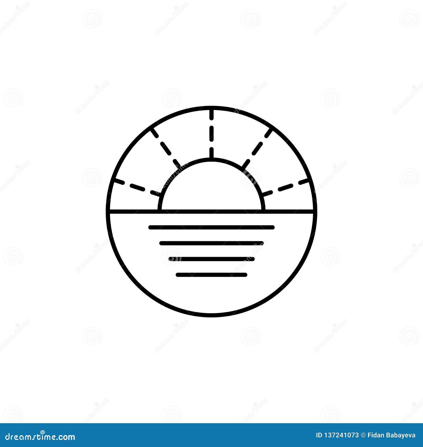 旅行,航海概述象 旅行例证的元素 标志和标志象可以为网,商标,流动应用程序,UI使用