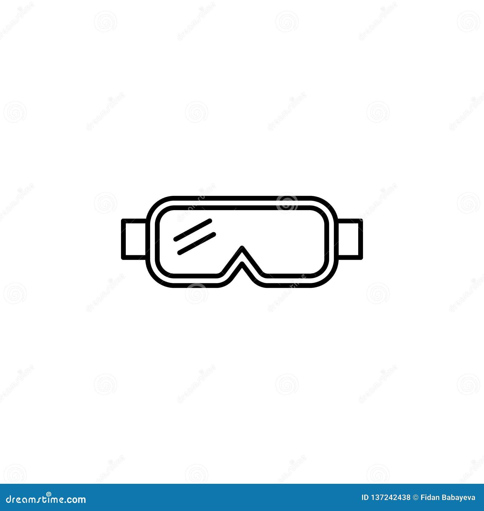 旅行,雪人概述象 旅行例证的元素 标志和标志象可以为网,商标,流动应用程序,UI,UX使用