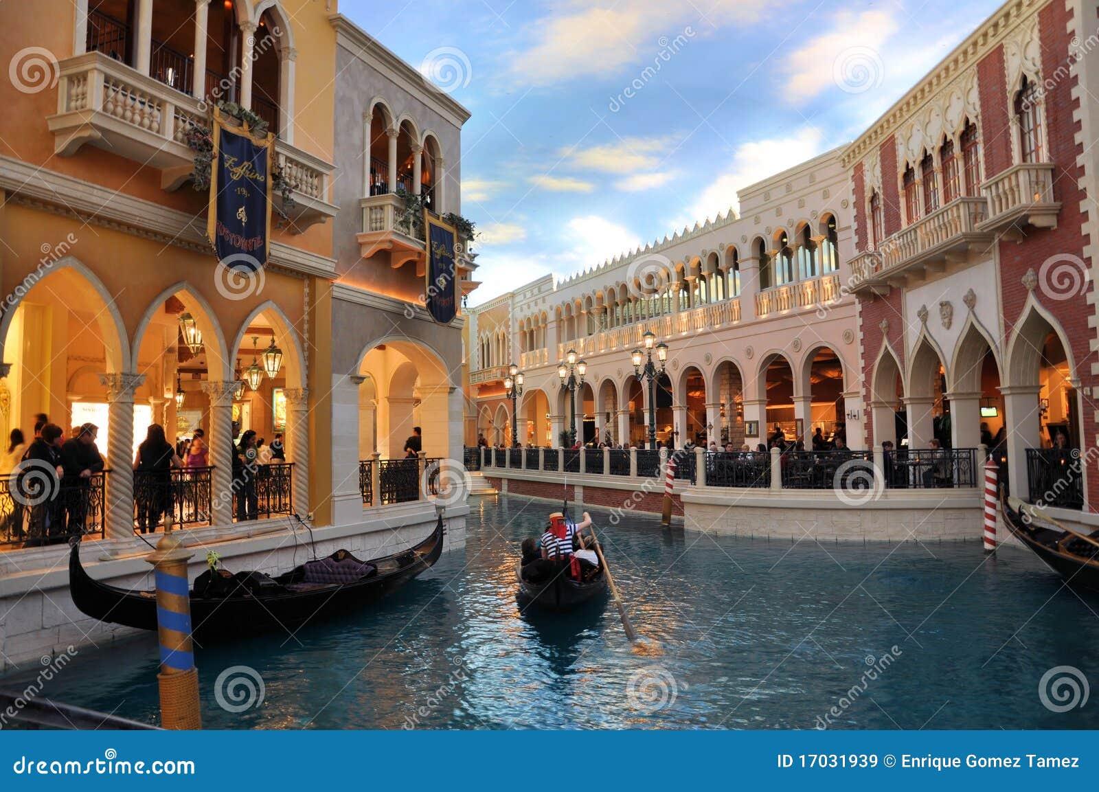 旅馆威尼斯式的拉斯维加斯