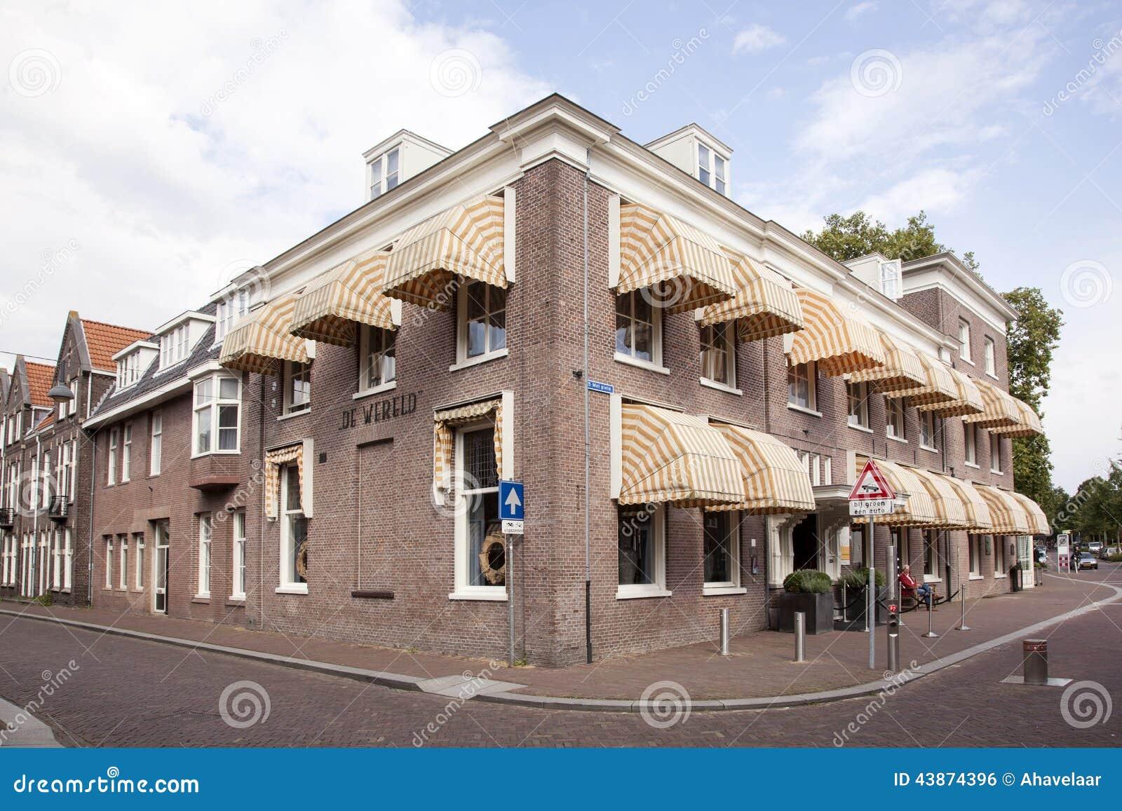 旅馆de wereld在瓦赫宁恩
