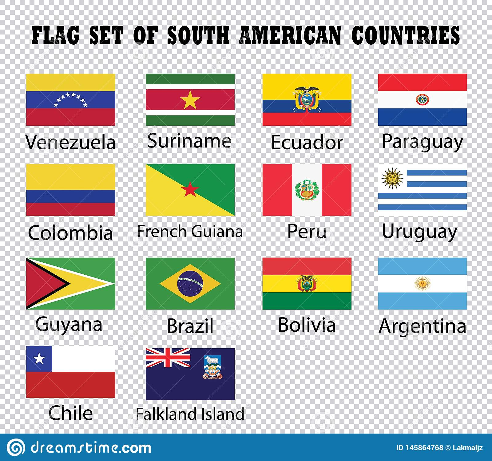 旗子套南美国家