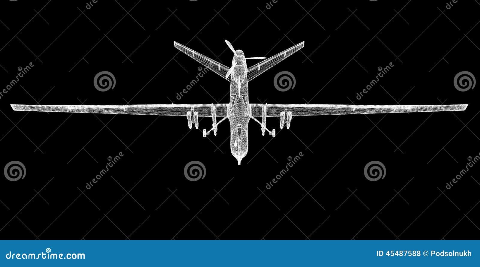 无人空中车(UAV)