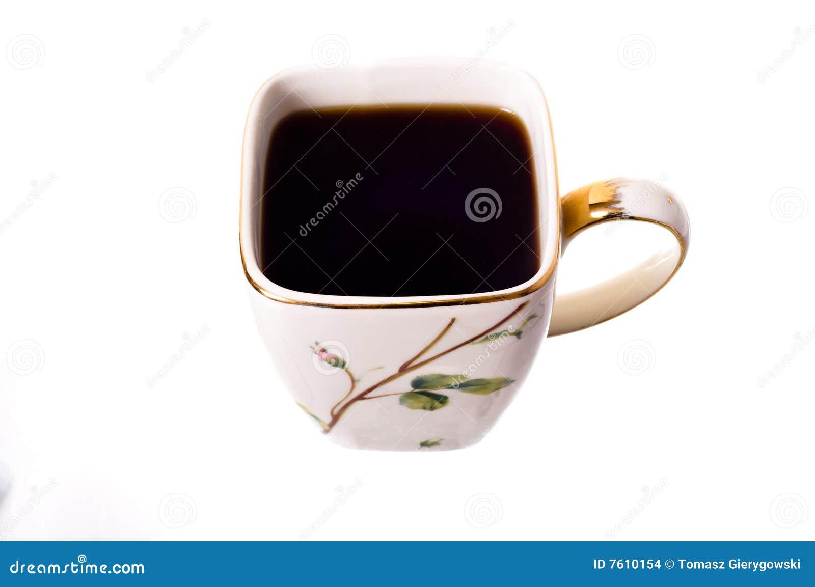 无奶咖啡杯子
