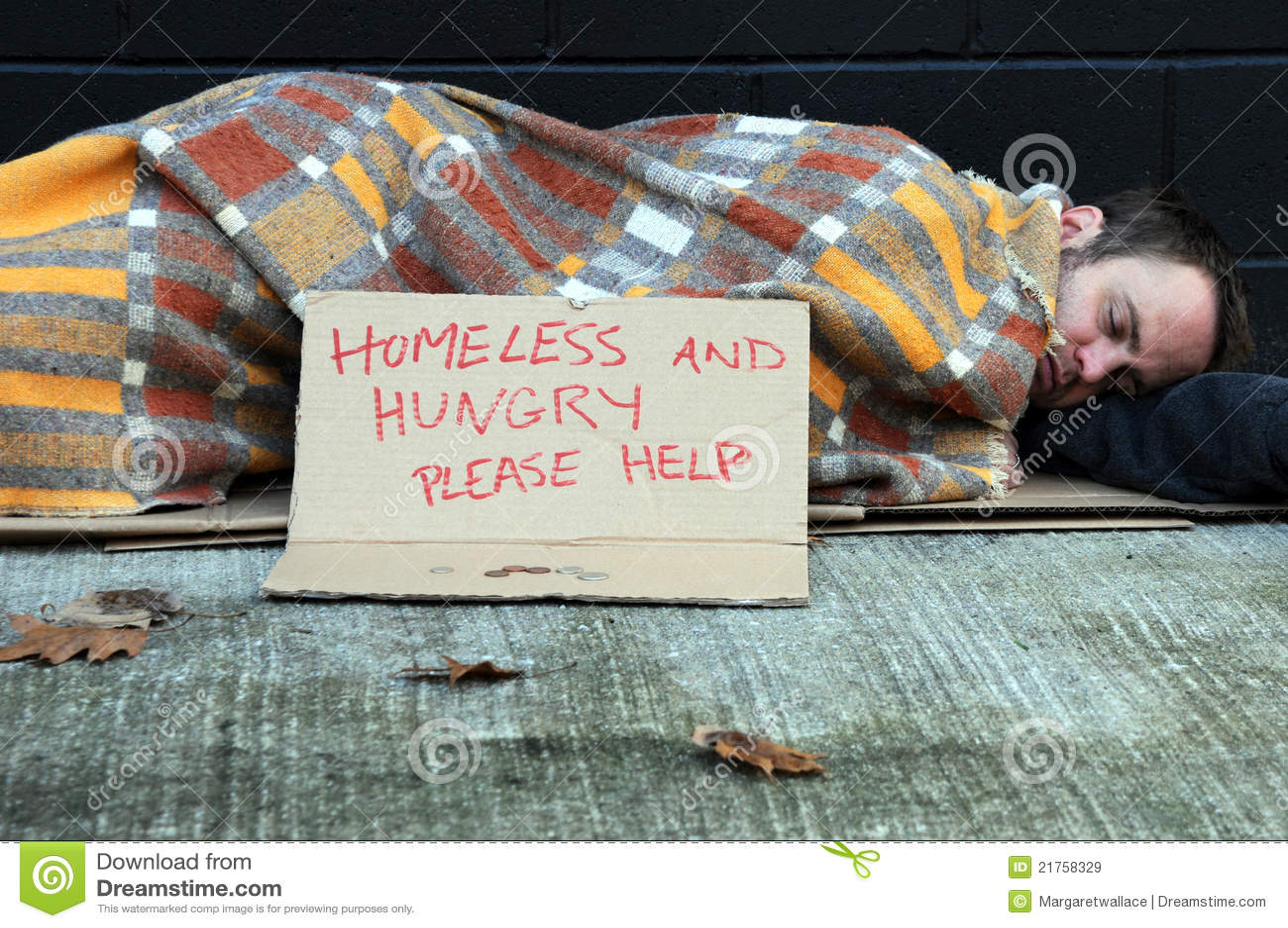 无家可归的人