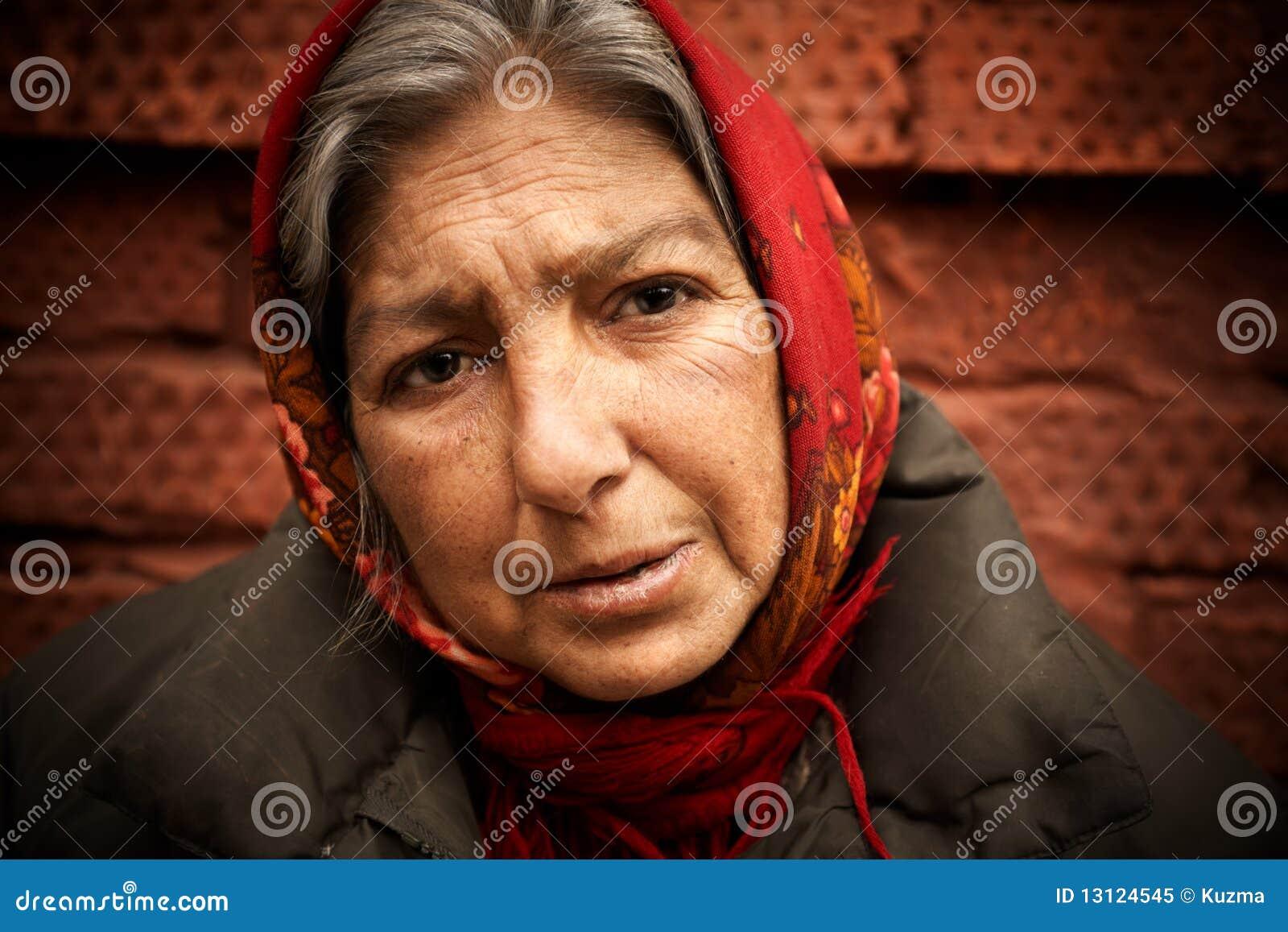 无家可归的妇女