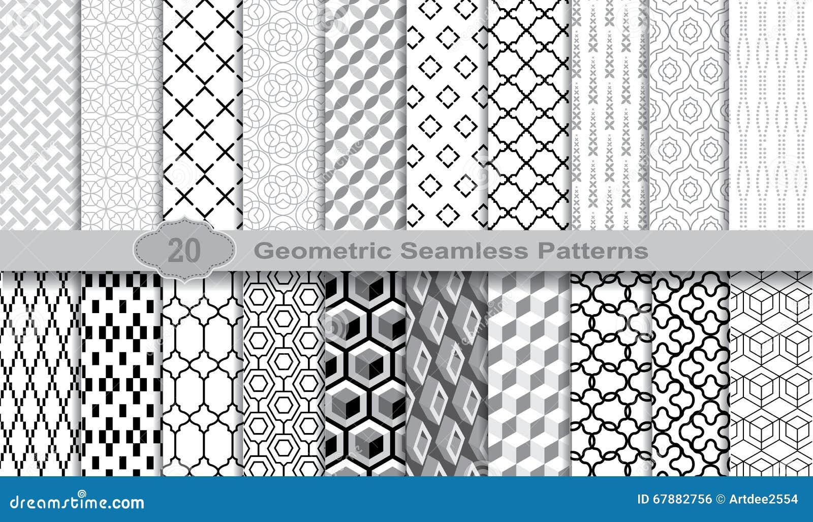 无缝几何的模式 为以图例解释者用户包括的样式样片,在文件包括的样式样片