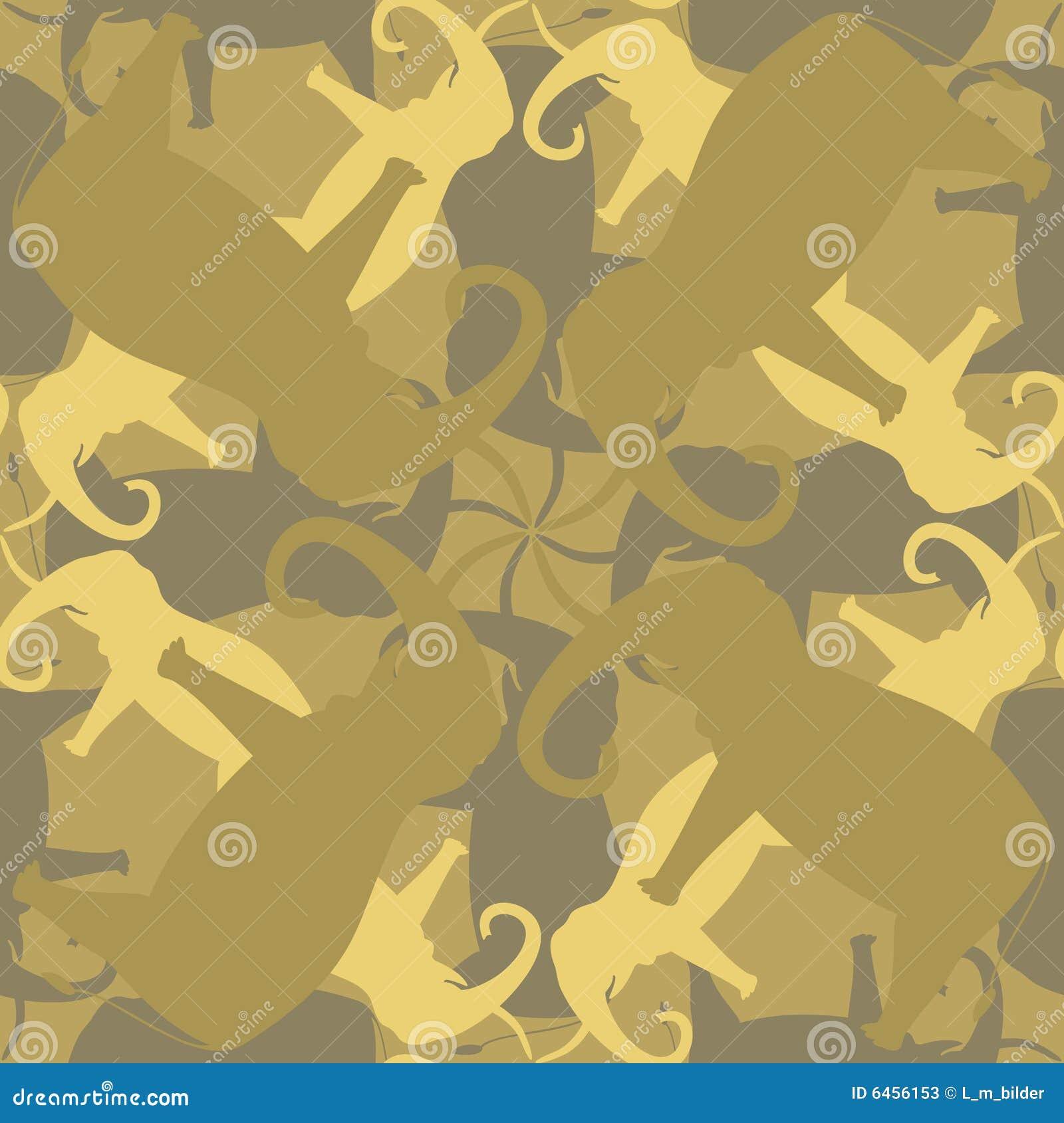 无缝大象的模式