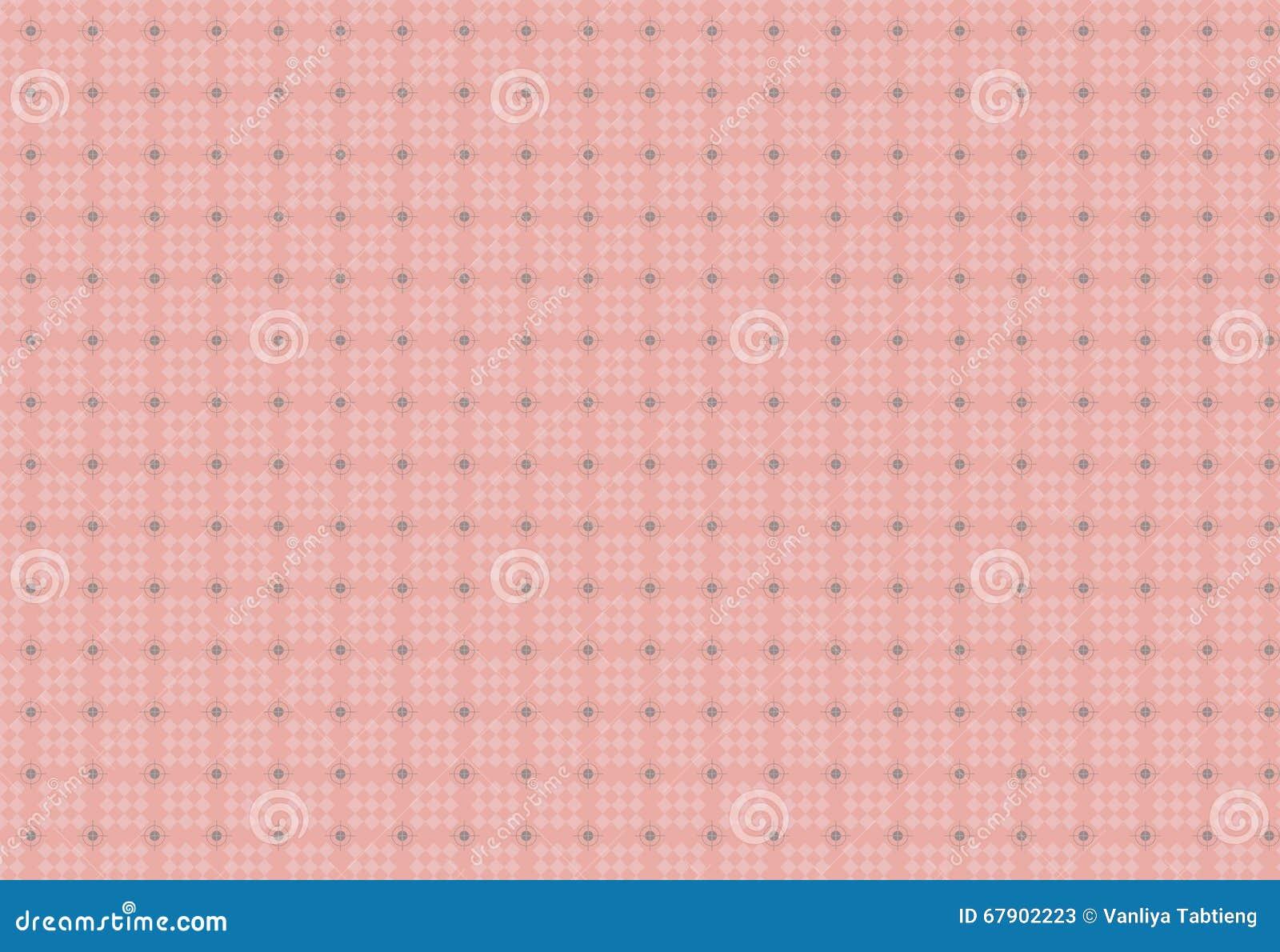无缝的几何正方形和圈子样式