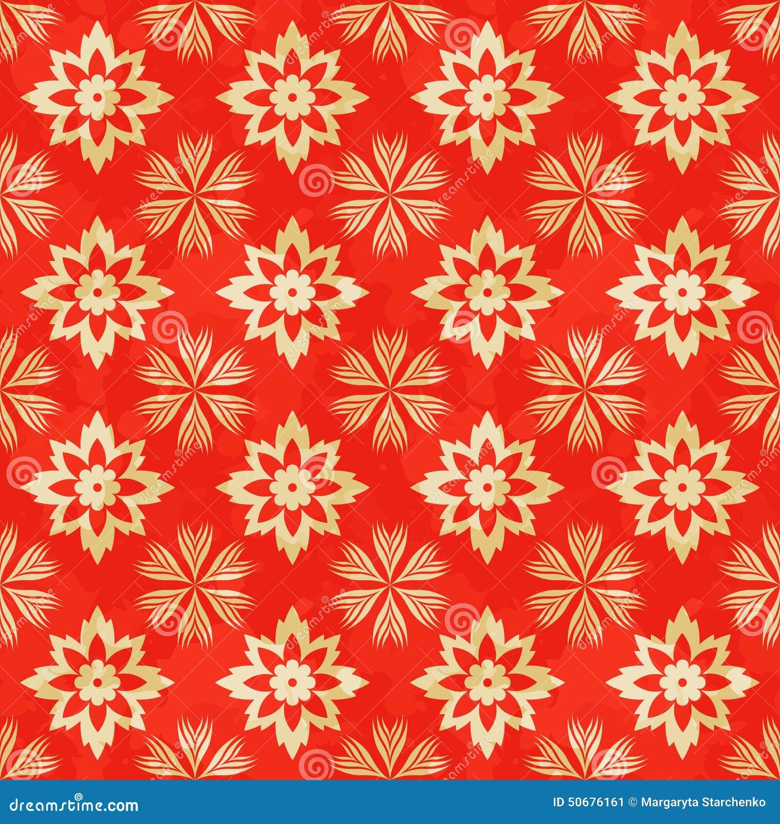Download 无缝的模式 向量例证. 插画 包括有 花卉, 纺织品, 仿制, 开花, 打印, 设计, 高雅, 重叠, 重复 - 50676161