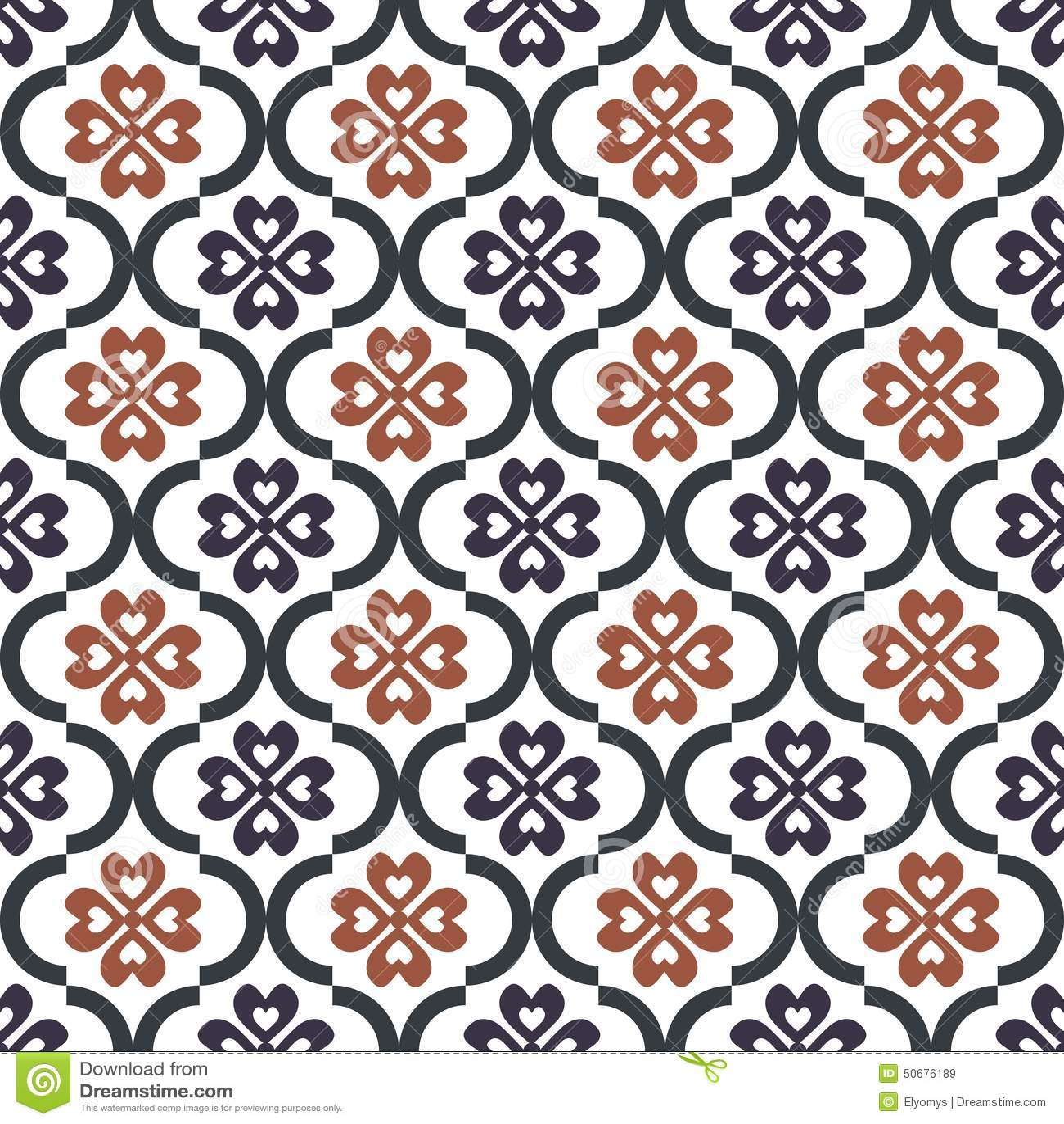 Download 无缝的模式 向量例证. 插画 包括有 锦缎, 图象, 模式, 纹理, 网格, 时髦, 开花, 纺织品, 经典 - 50676189