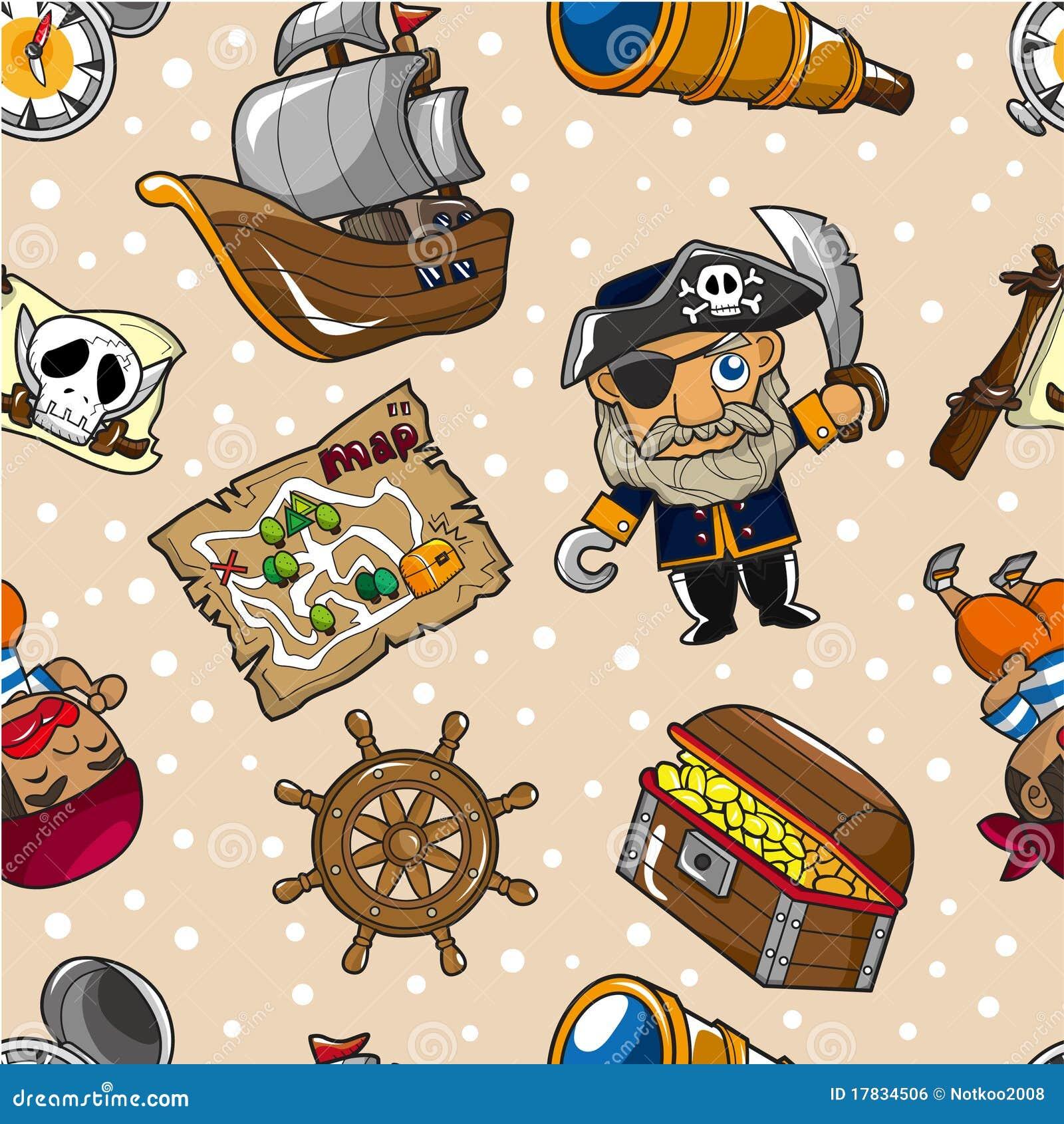 无缝的海盗模式