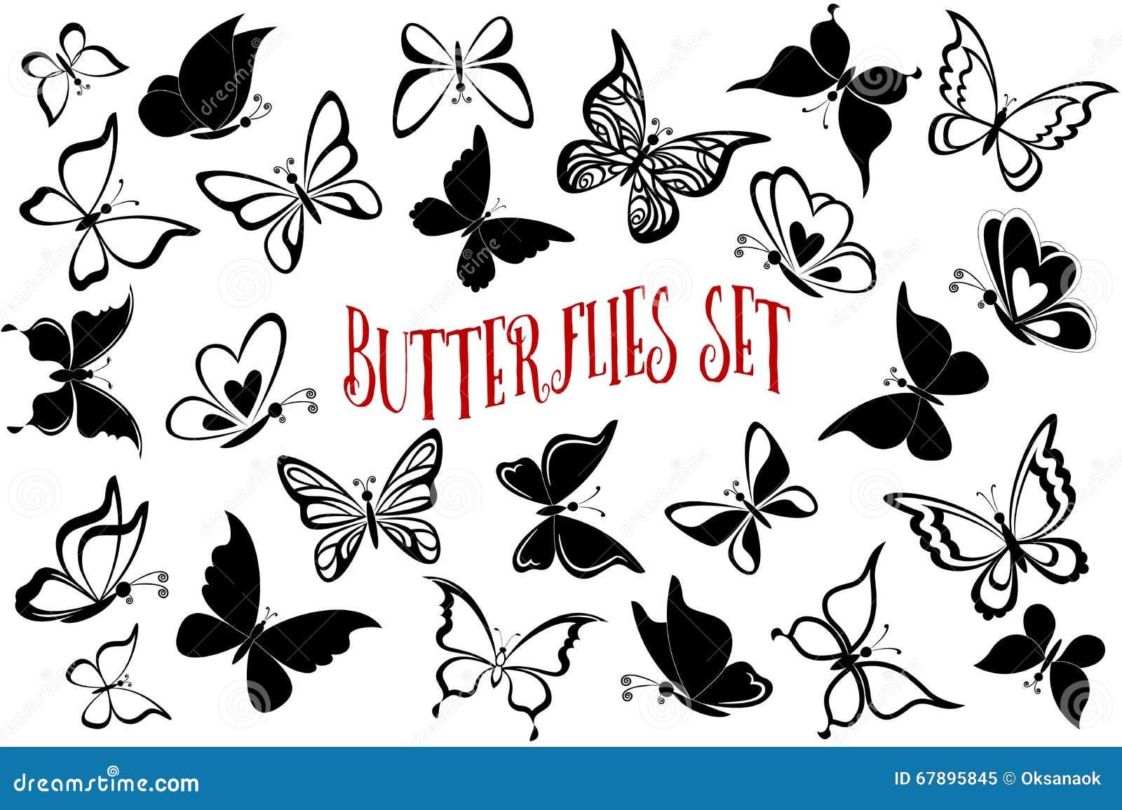 无缝的背景,蝴蝶