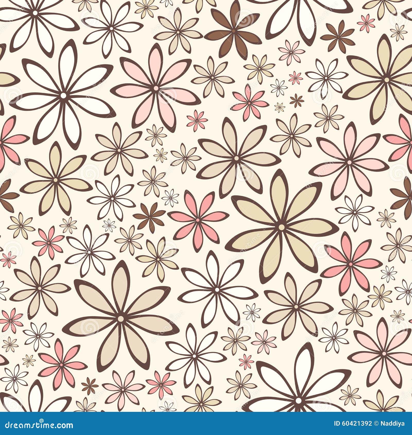 无缝的花纹花样 也corel凹道例证向量