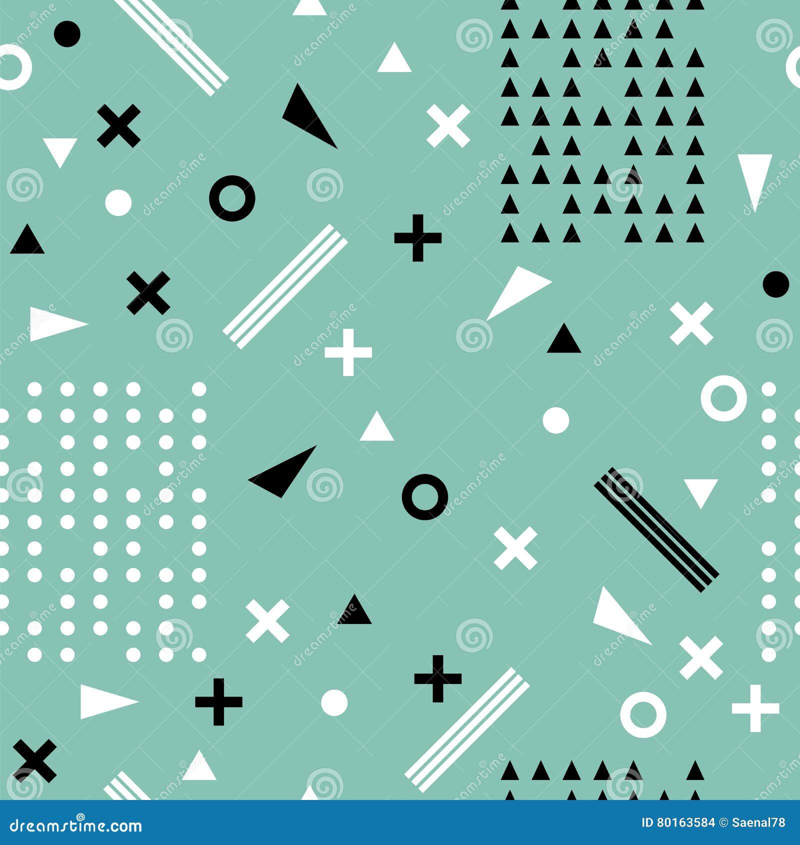 无缝种族的模式 阿兹台克抽象几何艺术印刷品 三