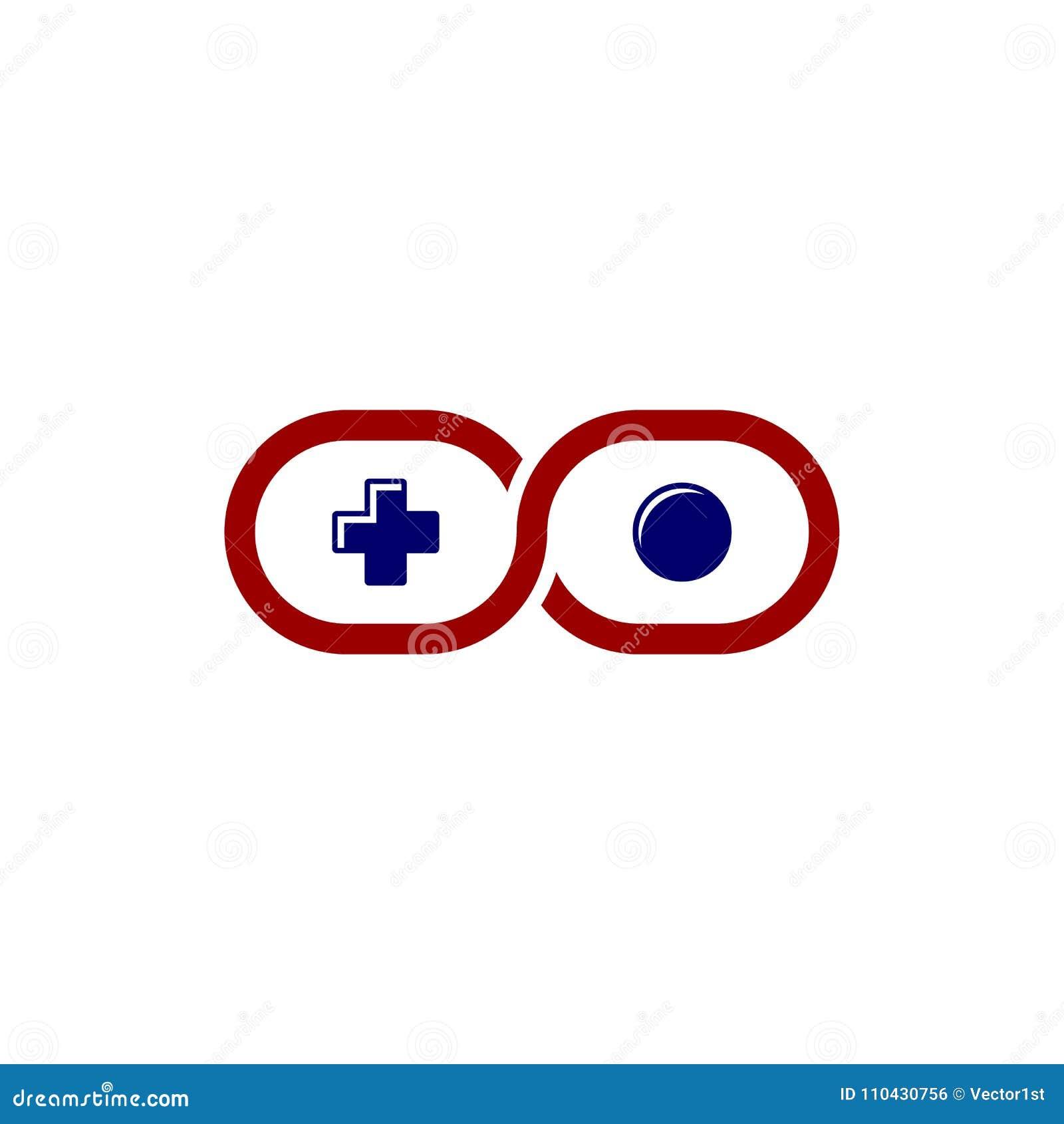 无限电子游戏控制杆控制台题材商标模板