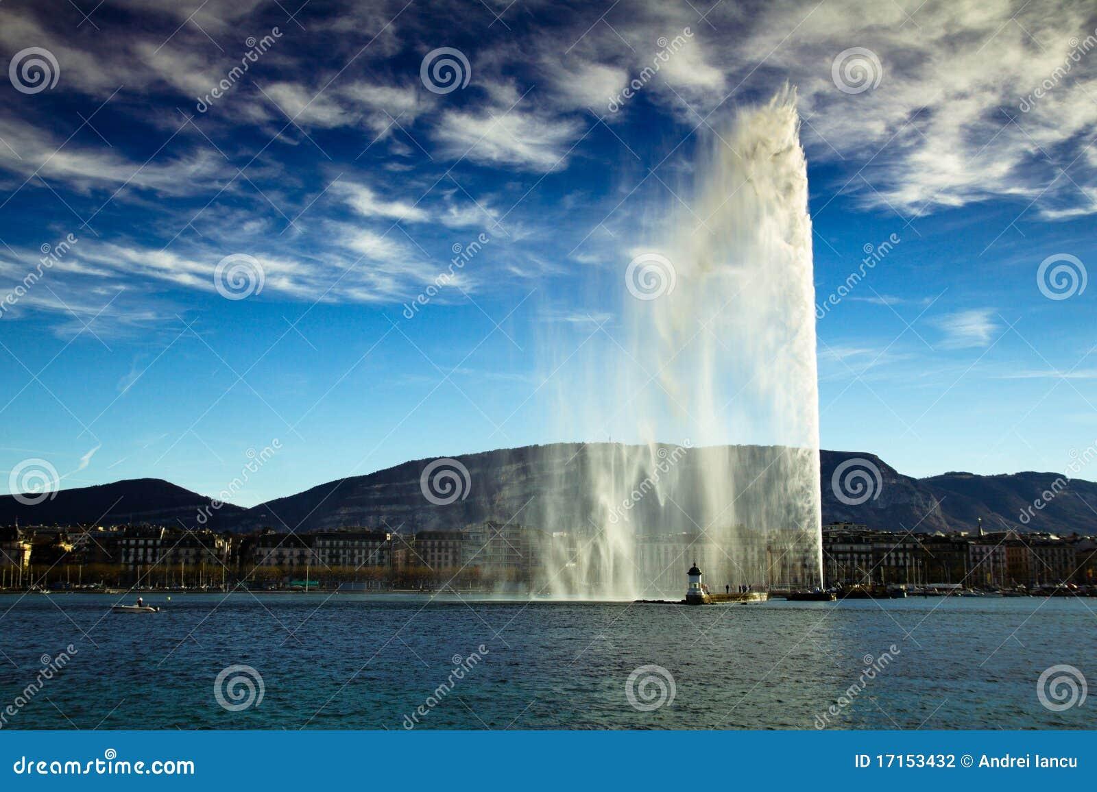 日内瓦喷气机水