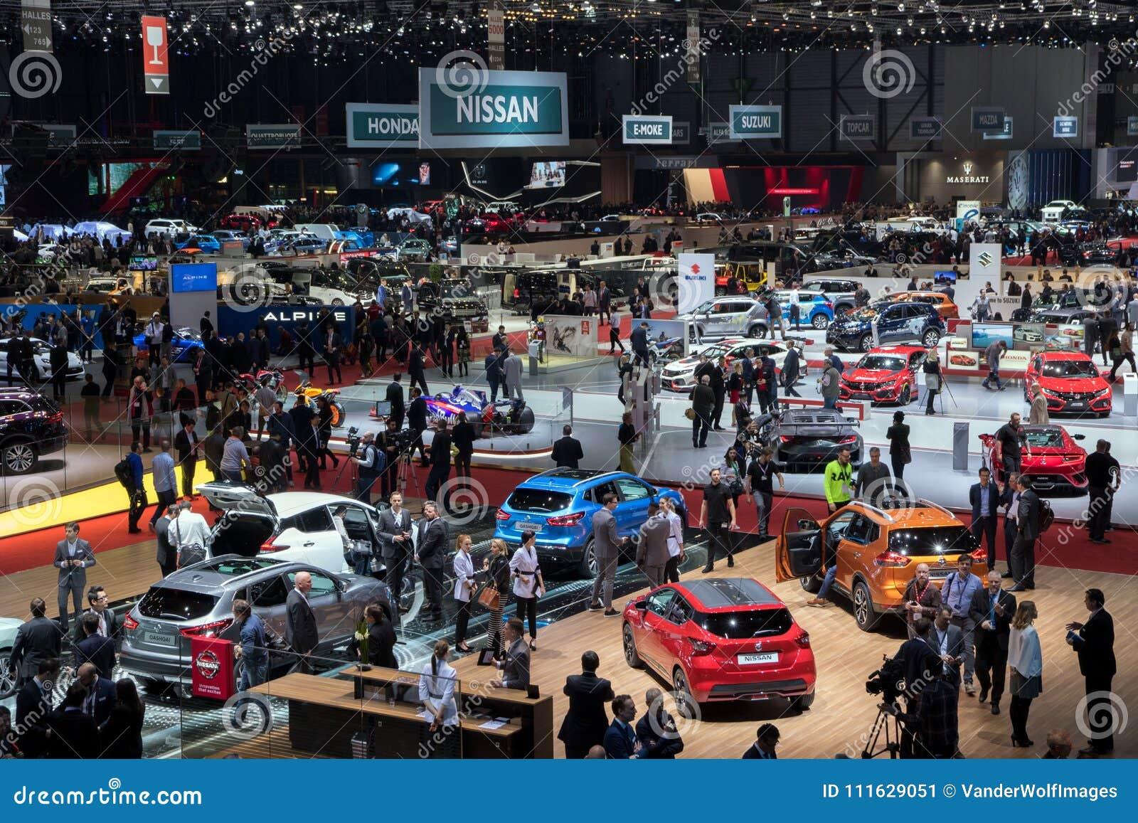 日内瓦汽车展示会2018年