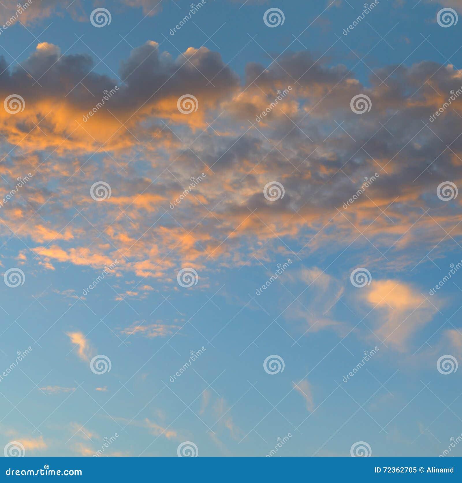 日出和积云