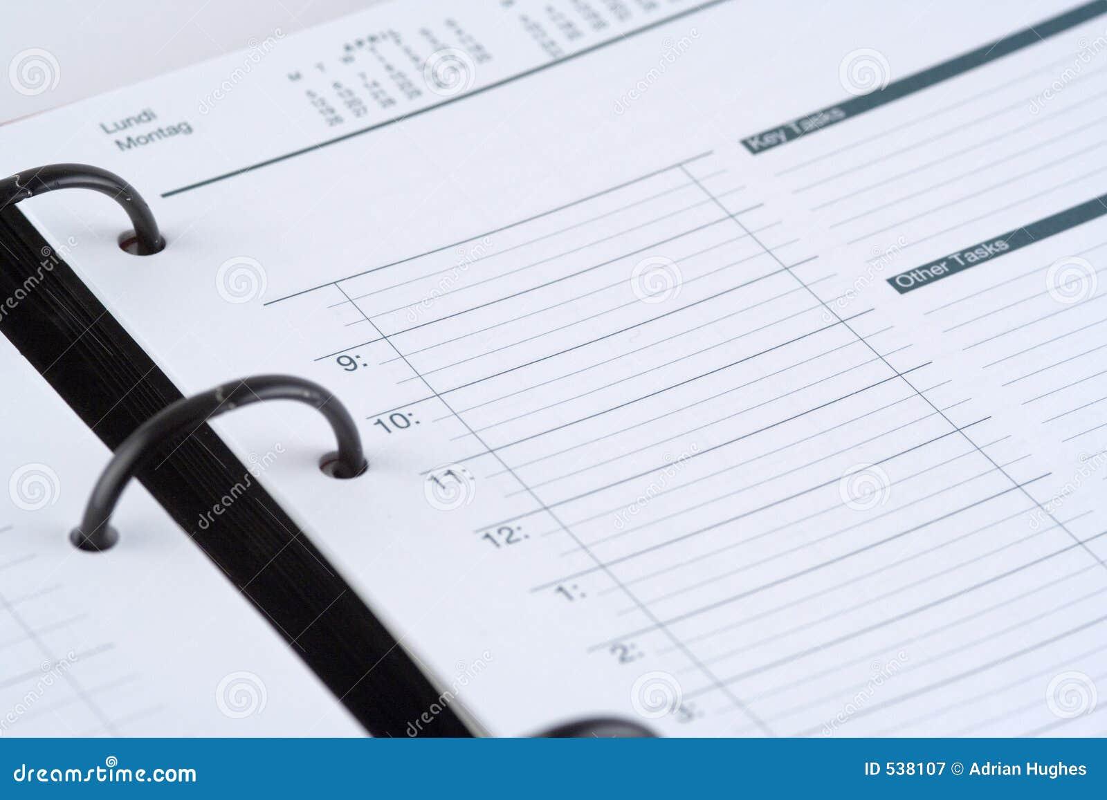 Download 日志 库存图片. 图片 包括有 会议, 日历, 时间, 时数, 今天, 评估人, filofax, 组织, 星期 - 538107